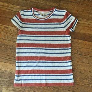 Madewell vintage stripe T shirt